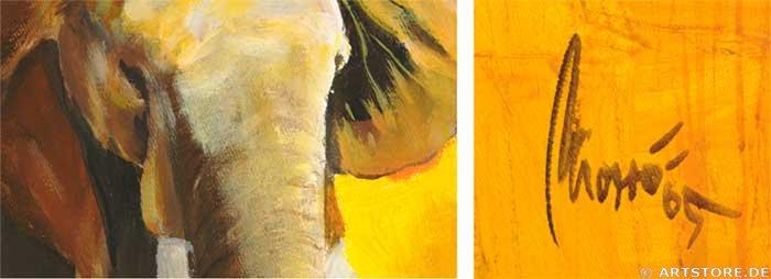 Wandbild Mia Morro AFRICAN WILDLIFE Detailausschnitt