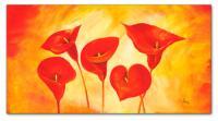 Wandbilder Mia Morro RED LILIES
