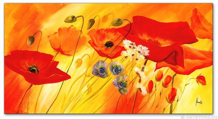 Wandbild Mia Morro FRESH FLOWERS