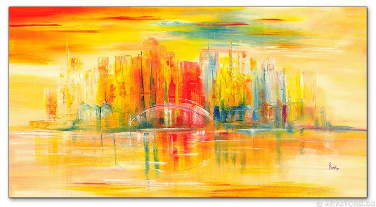 wandbilder mia morro new york skyline usa kunstdrucke. Black Bedroom Furniture Sets. Home Design Ideas