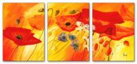 Wandbilder Mia Morro FRESH FLOWERS - BLUMEN