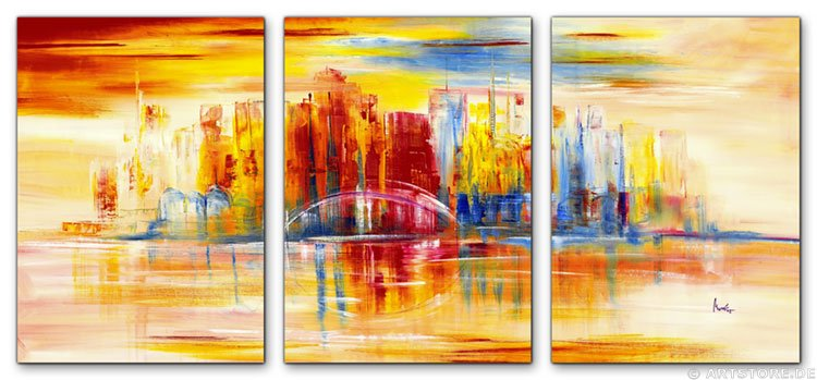 Wandbild Mia Morro NEW YORK SKYLINE - USA