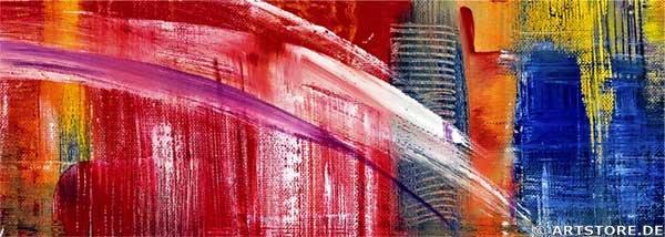 Wandbild Mia Morro NEW YORK SKYLINE - USA Detailausschnitt
