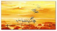 Wandbilder Mia Morro LAKE SUNSET