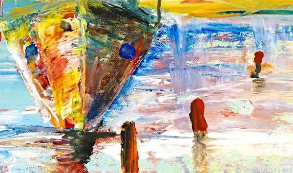 Wandbild Mia Morro SUMMER SAILING Detailausschnitt