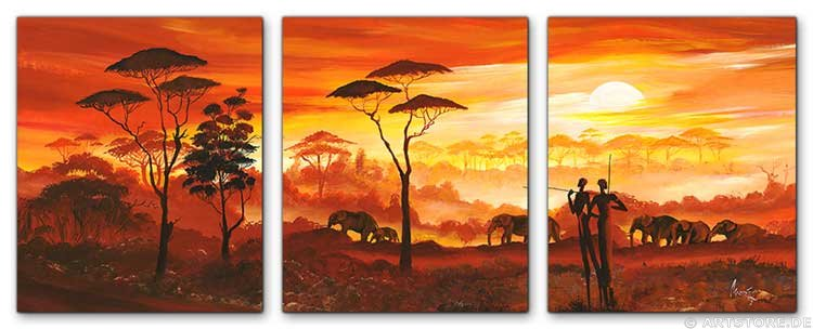 wandbilder mia morro africa my love edition kunstdrucke leinwand keilrahmen. Black Bedroom Furniture Sets. Home Design Ideas
