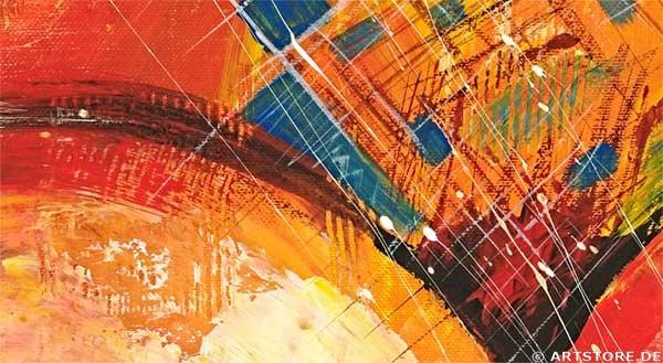 Wandbild Mia Morro SWEET HARMONY - EDITION Detailausschnitt