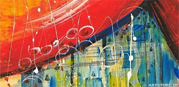 Wandbild Mia Morro SWEET HARMONY - BIG Detailausschnitt