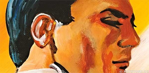 Wandbild Mia Morro TANGO - LEIDENSCHAFT Detailausschnitt