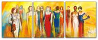 Wandbilder Mia Morro FASHION MEETING - EDITION