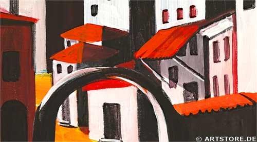 Wandbild Mia Morro TOSCANA COLORS - EDITION Detailausschnitt