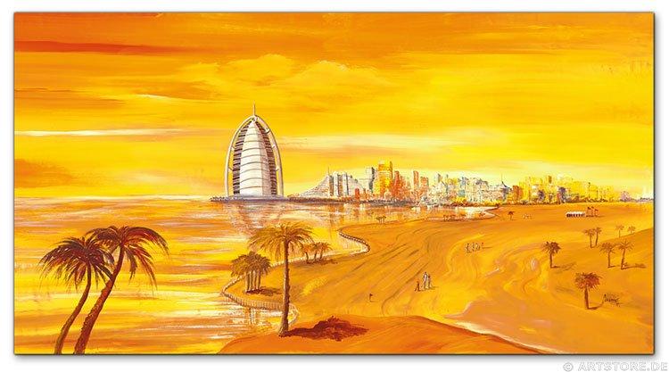 Wandbild Mia Morro DUBAI SKYLINE