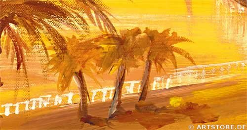 Wandbild Mia Morro DUBAI SKYLINE Detailausschnitt