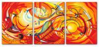 Wandbilder Mia Morro INTENSE OF LIVE