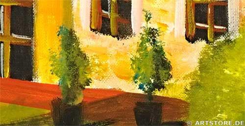 Wandbild Mia Morro VILLA MALLORCA Detailausschnitt