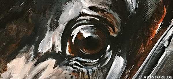 Wandbild Mia Morro SANDRO HIT Detailausschnitt