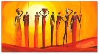 Wandbilder Mia Morro MASSAI SUNSET