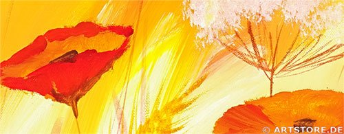 Wandbild Mia Morro SILENCE NATURE Detailausschnitt