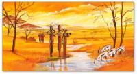 Wandbilder Mia Morro MASSAI WILDLIFE - FLOWERS