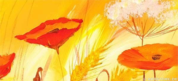 Wandbild Mia Morro SILENCE NATURE - EDITION Detailausschnitt