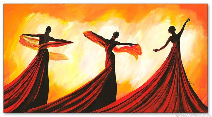 Wandbild Mia Morro THE LAST DANCE