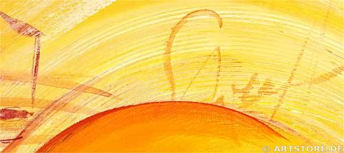 Wandbild Mia Morro TWO HEARTS Detailausschnitt