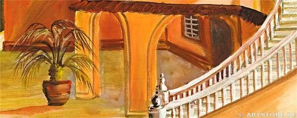 Wandbild Mia Morro VILLA PANORAMIC - EDITION Detailausschnitt
