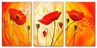 Wandbilder Mia Morro SUNNY POPPYS - EDITION