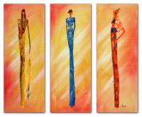Wandbilder Mia Morro MASSAI FASHION - EDITION