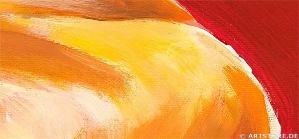 Wandbild Mia Morro CALLA MY LOVE Detailausschnitt