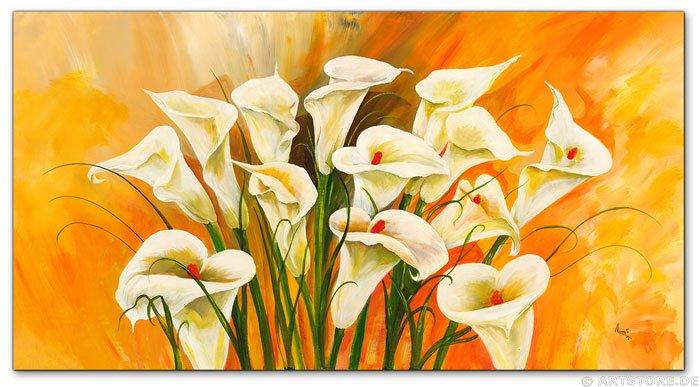 Wandbild Mia Morro CALLAS - WHITE