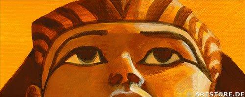 Wandbild Mia Morro MYTHOS ÄGYPTEN - EDITION Detailausschnitt