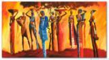 Wandbild Mia Morro MASSAI AFRIKA