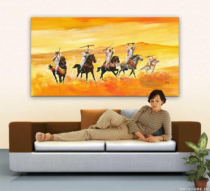 Wandbild Mia Morro DESERT CULTURE Wohnbeispiel