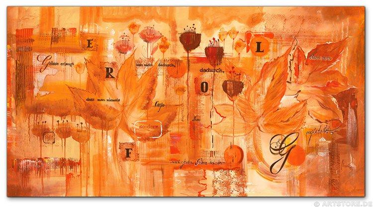 Wandbild Mia Morro ERFOLG - SUCCESS