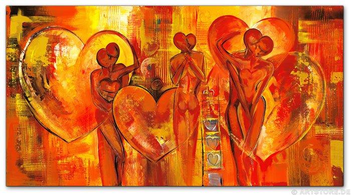 Wandbild Mia Morro COUPLE OF LOVE