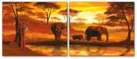Wandbilder Mia Morro GOLDEN AFRICA - EDITION