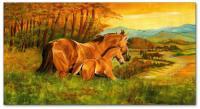Wandbilder Mia Morro HORSE FAMILY