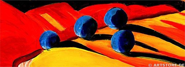 Wandbild Mia Morro FRESH TUSCANY Detailausschnitt