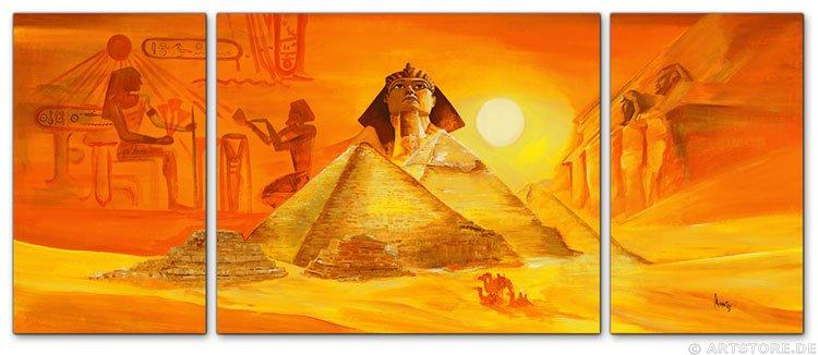 Wandbild Mia Morro MYTHOS ÄGYPTEN - EDITION
