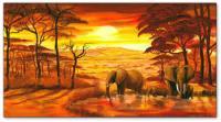 Wandbilder Mia Morro HOT AFRICAN DAY