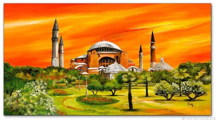 Wandbild Mia Morro Hagia Sophia - Istanbul