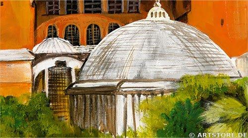 Wandbild Mia Morro Hagia Sophia - Istanbul Detailausschnitt