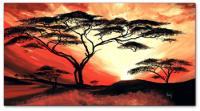 Wandbilder Mia Morro GREAT AFRICA SUN