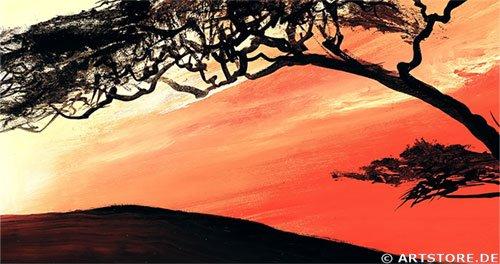 Wandbild Mia Morro GREAT AFRICA SUN Detailausschnitt