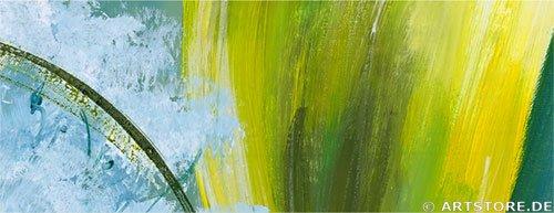 Wandbild Mia Morro CALLA OF LOVE Detailausschnitt