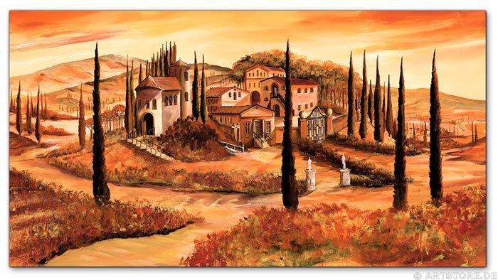Wandbild Mia Morro TOSKANA ITALIEN