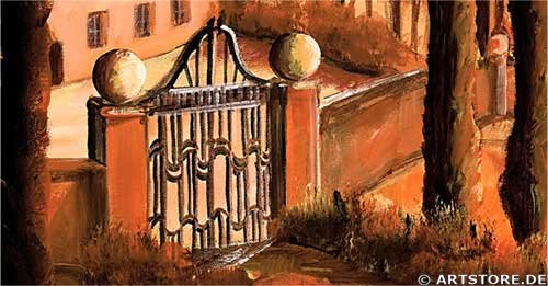 Wandbild Mia Morro TOSKANA ITALIEN Detailausschnitt
