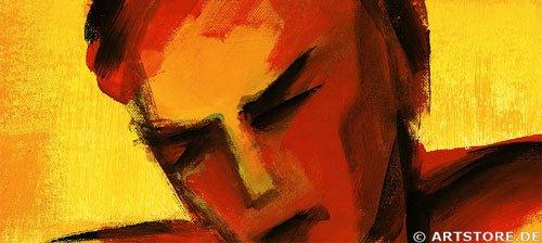 Wandbild Mia Morro IN LOVE Detailausschnitt