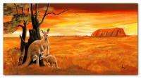 Wandbilder Mia Morro KANGAROOS - AUSTRALIA